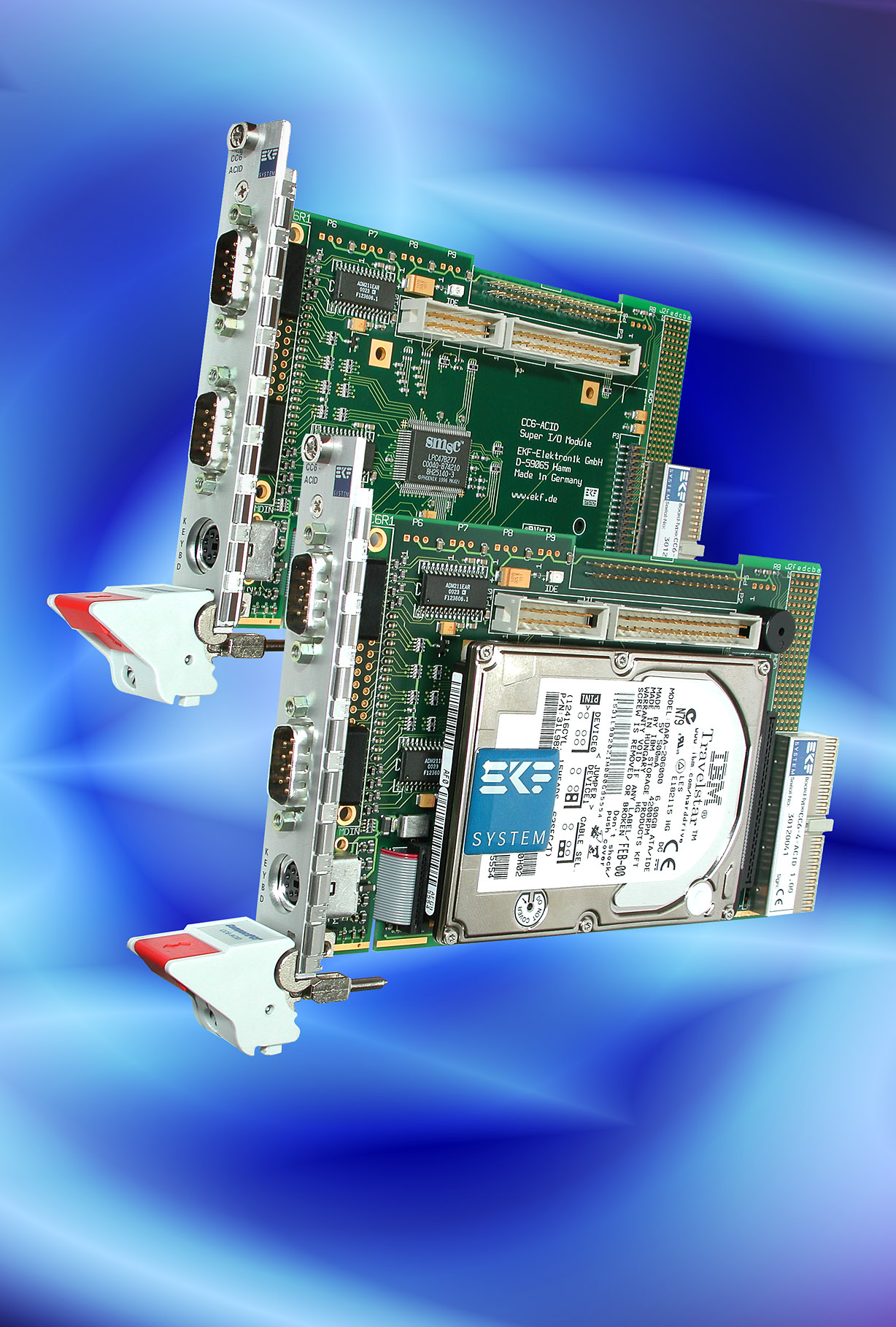 Ekf Compactpci Cpu Boards Cc6 Acid Amp Cc0 Chillout Super I