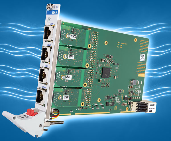 SU3-ENSEMBLE • CompactPCI® Serial Carrier Card for Isolated Transceiver Modules