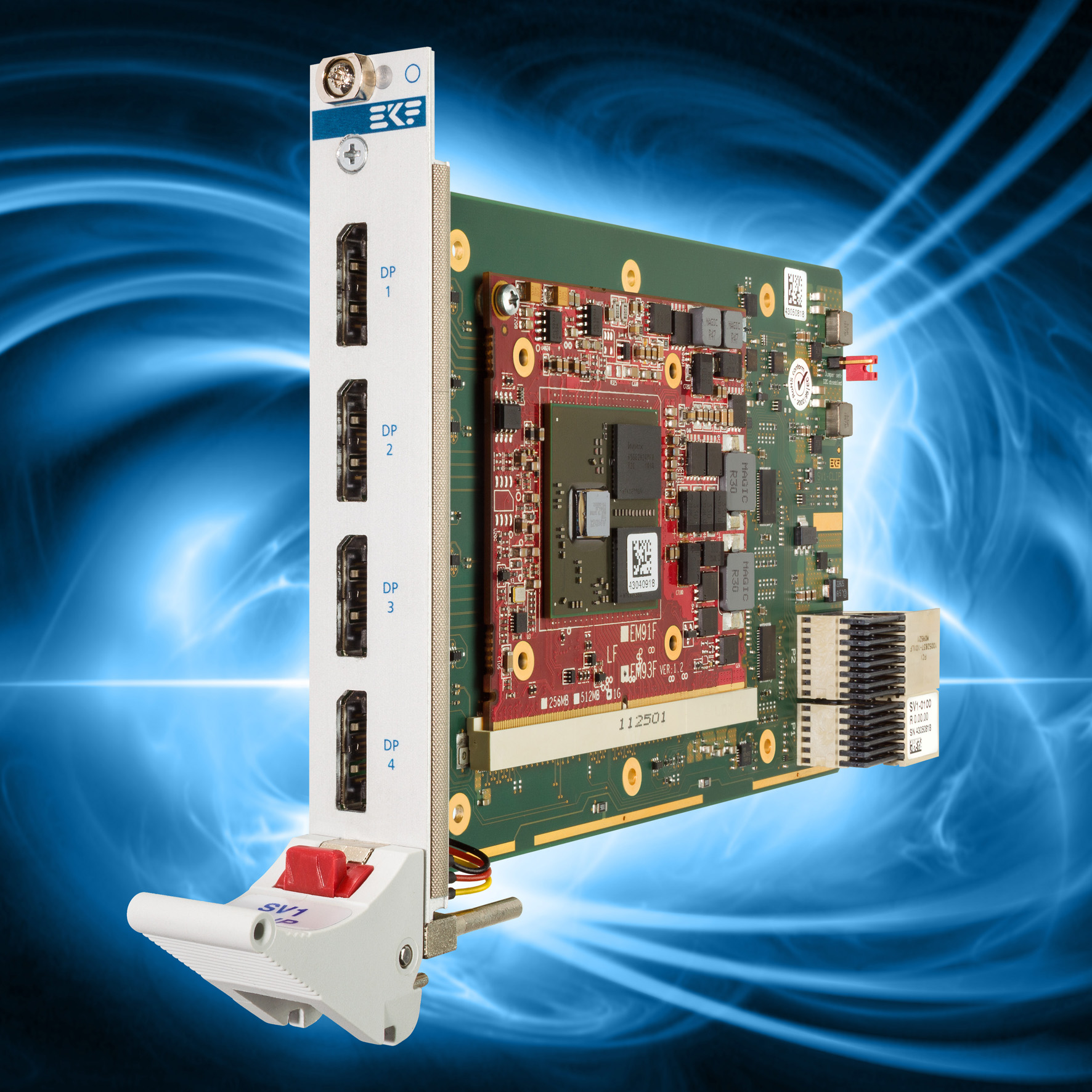 Ekf Compactpci 174 Serial Products Sv1 Clip Mxm 3 0 Type A