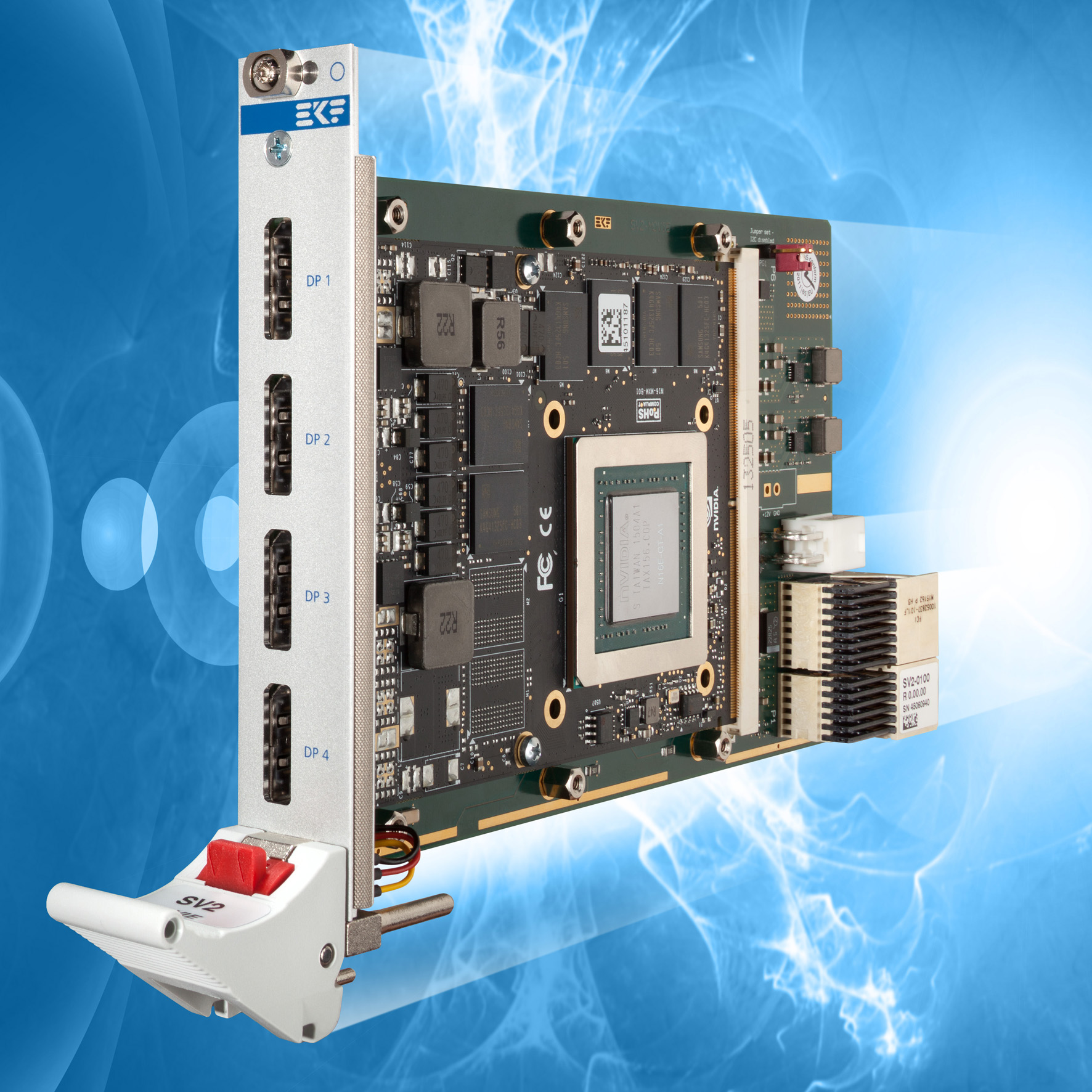 EKF CompactPCI® Serial Products: SV2-MOVIE • MXM 3 0/3 1