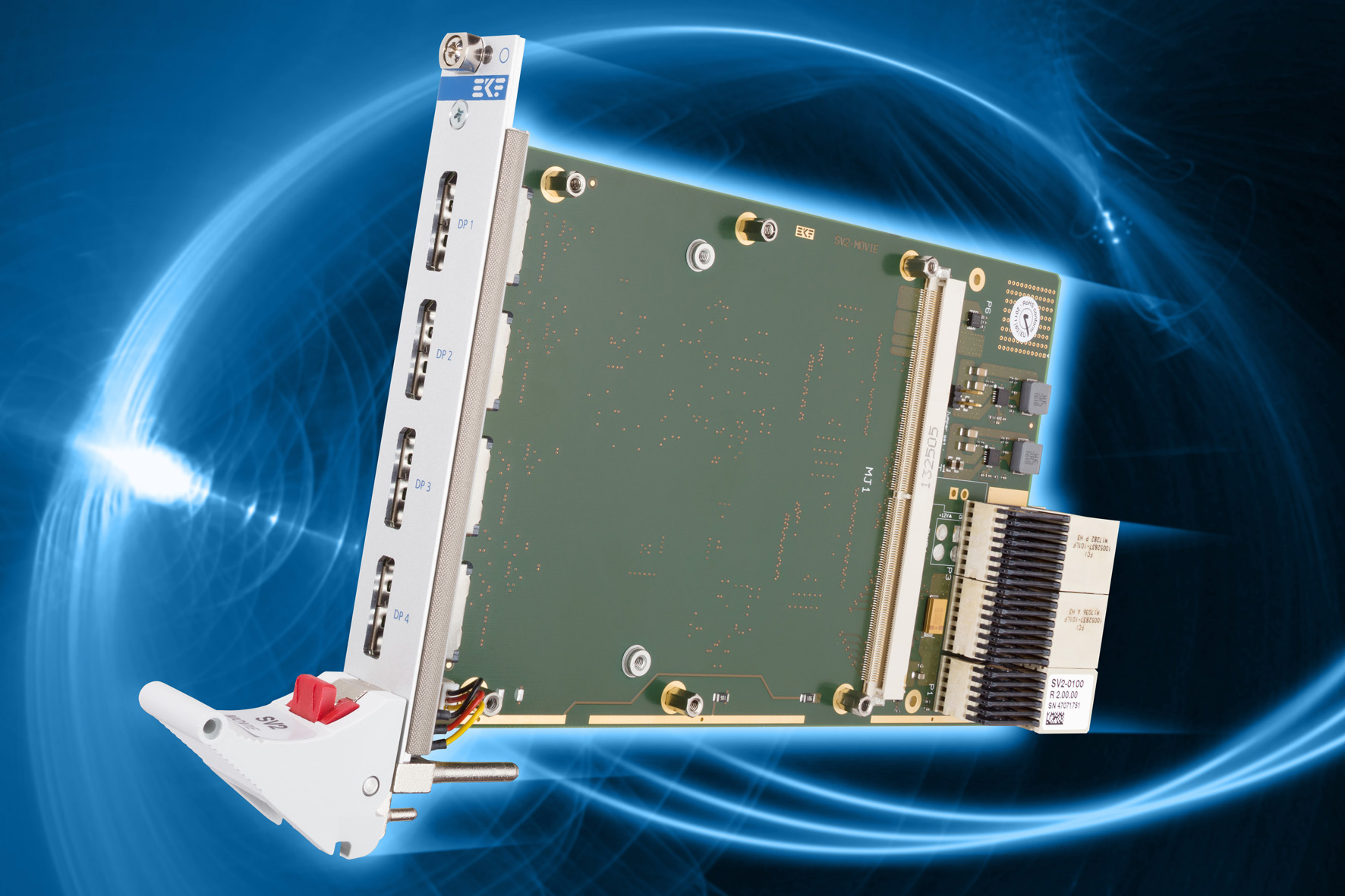EKF CompactPCI® Serial Products: SV2-MOVIE • MXM 3 0/3 1 Type A
