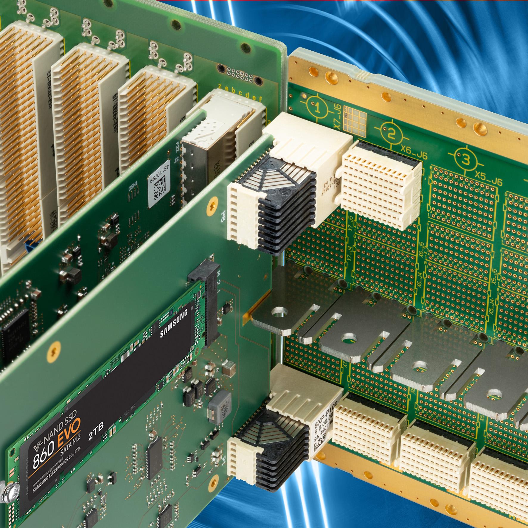 EKF CompactPCI® Serial: SXP-JAM & PCX-JAM • CompactPCI® Serial to